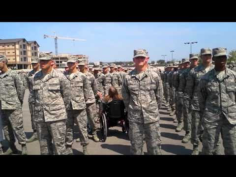 Air Force Coin Ceremony Tap Out