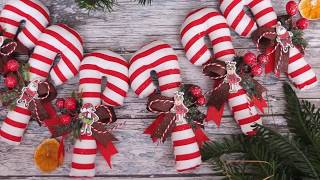 Оригинальные Новогодние игрушки /своими руками/ Homemade Christmas