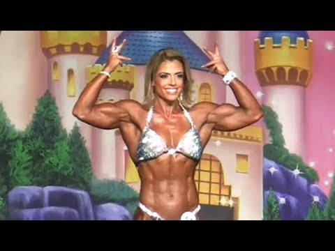 IFBB Pro Women's Physique All Competitors Prejudging 2017 Europa Games Orlando