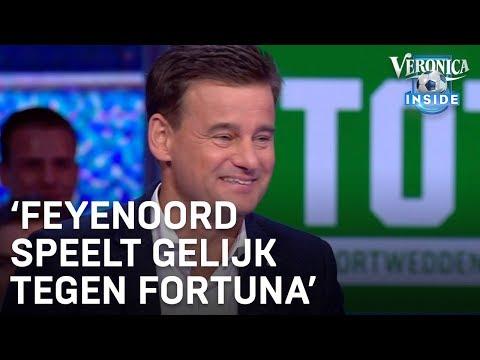 Toto-voorspelling: † Feyenoord speelt gelijk tegen Fortuna † | VERONICA INSIDE