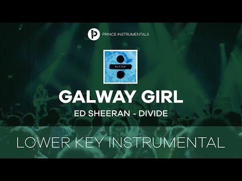 Galway Girl - Ed Sheeran [ Lower Key Instrumental Karaoke ]