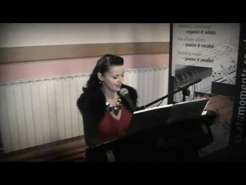 Siobhan Flanagan -- pianist and singer -- A Thousand Years (cover)