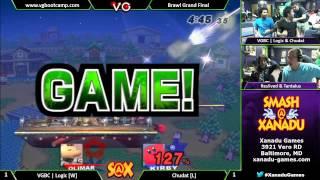 S@X Weekly - Chudat (Kirby) Vs. VGBC | Logic (Olimar) SSBB Grand Finals - Super Smash Bros. Brawl