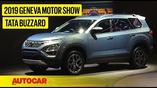 Tata Buzzard (H7X) | First Look Preview | Geneva Motor Show 2019 | Autocar India