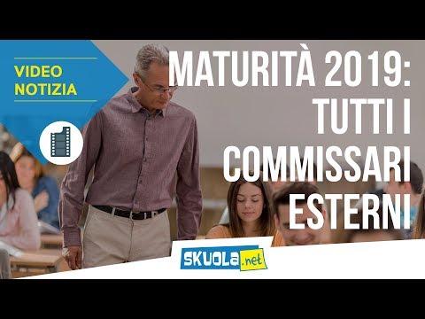 Maturità 2019: tutti i commissari esterni