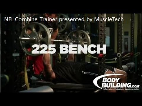 NFL Combine Trainer: 225 Bench Press - Bodybuilding<a href='/yt-w/jKEsxyMokCw/nfl-combine-trainer-225-bench-press-bodybuilding.html' target='_blank' title='Play' onclick='reloadPage();'>   <span class='button' style='color: #fff'> Watch Video</a></span>