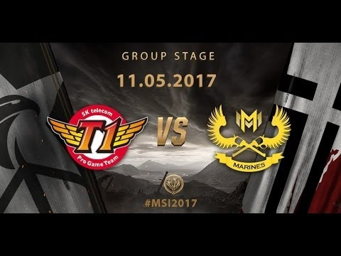 Highlight GAM vs SKT T1 - MSI 2017