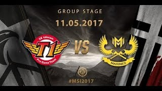 Highlight GAM vs SKT T1 - MSI 2017 [11-05-2017]