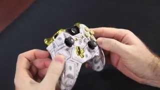 ''Geld regiert die Welt-Kugel-Knöpfe'' Xbox ONE Custom Modded Controller - COD ''AW'' & 'Battlefield''