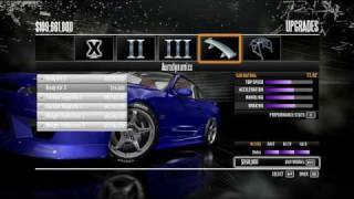 Need for Speed SHIFT - Car Upgrades
