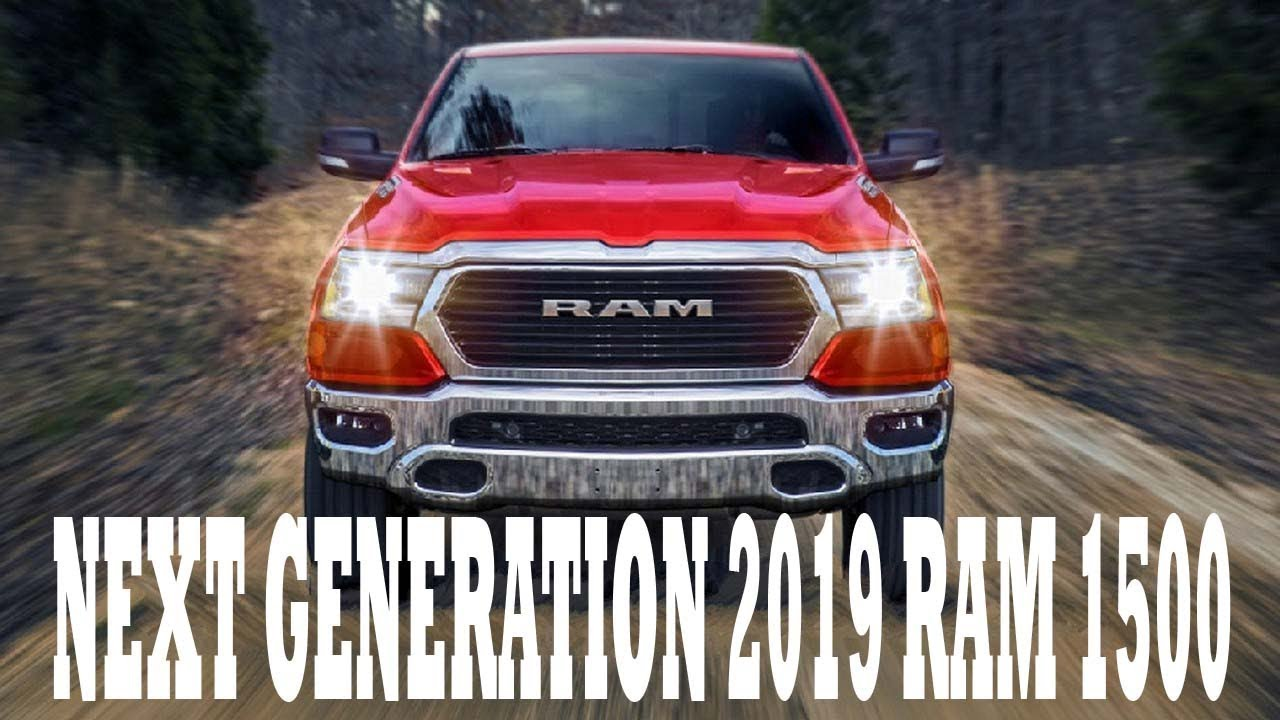 2019 Ram 1500 Redesign >> Hot News This Could Be The Next Generation 2019 Ram 1500