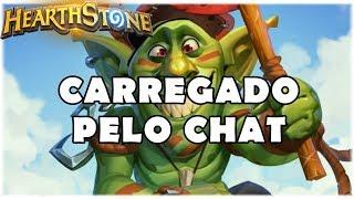 HEARTHSTONE - CARREGADO PELO CHAT! (STANDARD CONTROL WARRIOR)