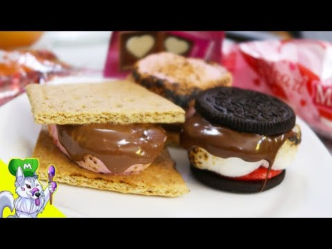 Valentine's Day S'mores With a Culinary Torch Recipe