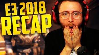 E3 2018 RECAP! (Bethesda, Microsoft, Sony,  etc...)