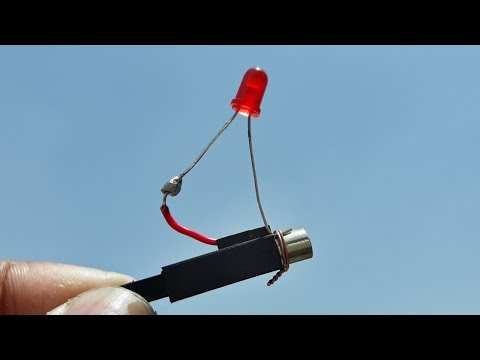 how to generate electricity using lighter