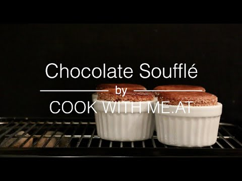 Chocolate Soufflé from the Grill - COOK WITH ME.AT