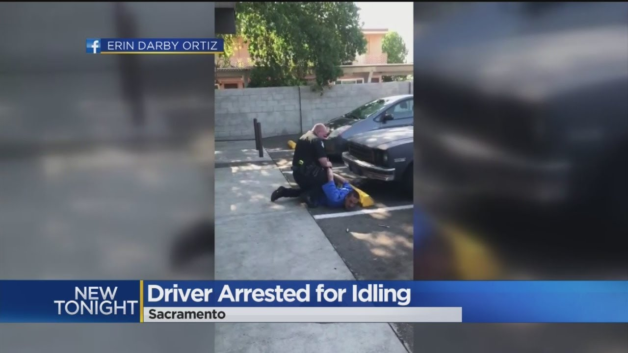 An Idle Threat Man Arrested For Leaving Car Running In Parking Lot