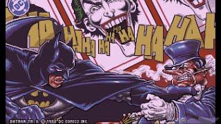 Amiga Longplay: Batman - The Caped Crusader