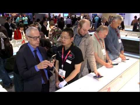 Huawei Booth Highlights at CES 2013