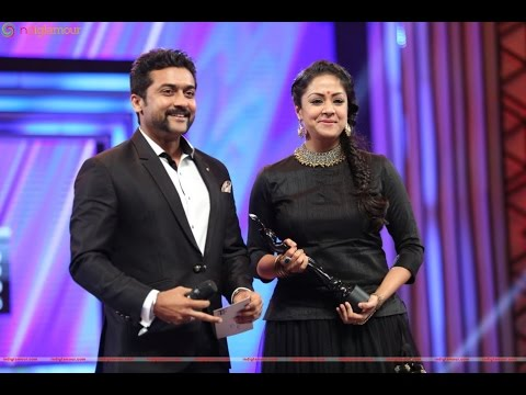 Surya Jyothika in Filmfare 2016 - Best Actress award to his