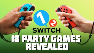 1-2-Switch | 18 Party Games Revealed (Nintendo Switch)