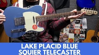 UNBOXING Squier FSR Bullet Telecaster Lake Placid Blue