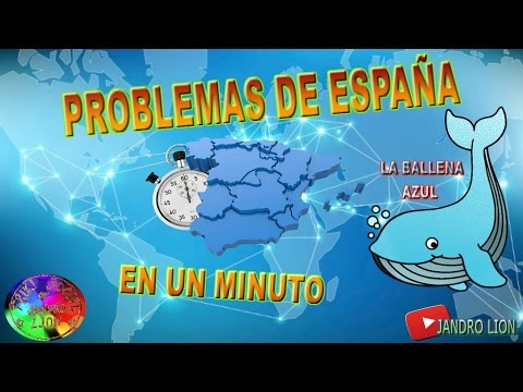 "Problems of Spain, in a minute. Today: ""The Blue Whale"". #frikisocial #frikisocialpolicial"