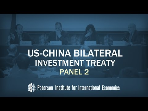 US-China Bilateral Investment Treaty: Panel II