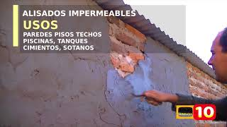 Como hacer cemento impermeable