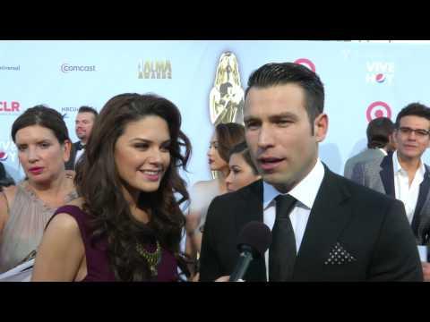 Rafael Amaya and Angélica Celaya  Alma Awards  Entretenimiento