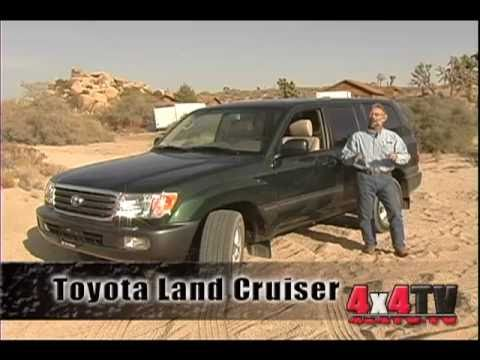 4x4TV Test - 2004 Toyota Land Cruiser