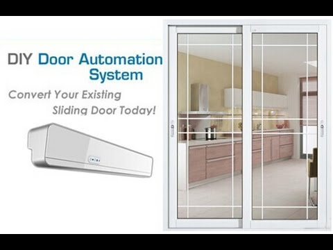 Geze automatic sliding with break out system doovi for Omni garage door