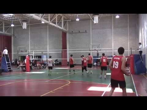 2015 NECVL finals Boston University vs Northeastern