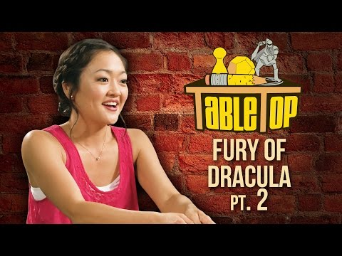 TableTop: Wil Wheaton Plays The Fury of Dracula w Grant Imahara, Amy Okuda, & Ify Nwadiwe! Pt. 2