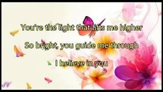 Michael Bublé  I Believe In You  Lyrics