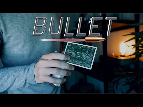 BULLET Tutorial // A One Handed Card Twirl!