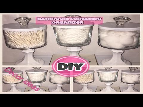 DIY Bathroom Organizer Dollar Store