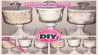 DIY Bathroom Organizer Dollar Store