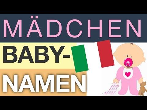 Mädchennamen – TOP 10 (Italien)