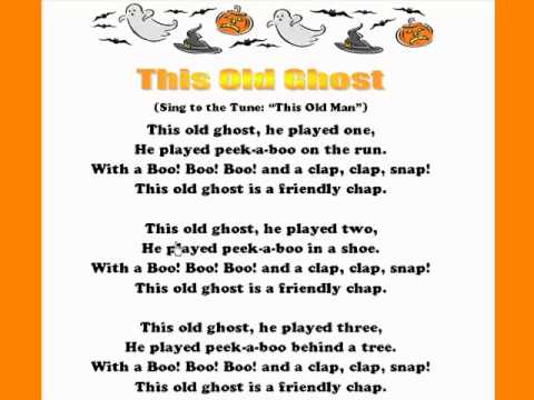 This Old Ghost / Kids Halloween Rhymes and Songs/ Kids Read and ...