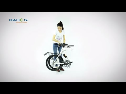 How To Fold And Unfold Your DAHON Bike - Dash With D4D Quickpark Stem & Flatpak
