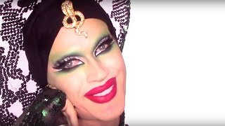 Infamous Snake Look from RPDR Season 7 Transformation