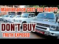 Don't Buy USED LUXURY CARS | Maintenance COST too High? TRUTH EXPOSED | Must Watch