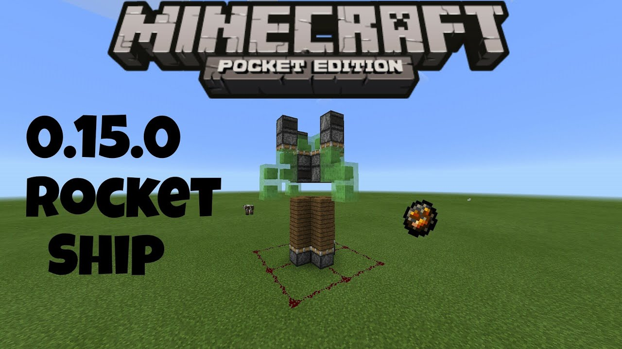 How to make a rocket in minecraft 19