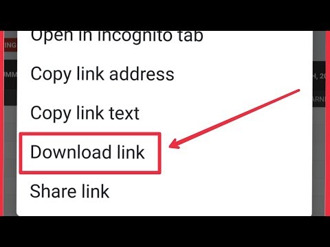 Chrome | How To Download Link Any Site In Android