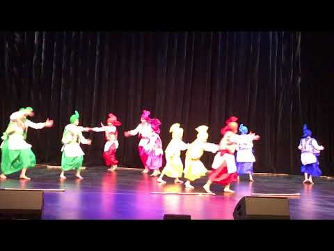 Rose theatre performance by nj's Gabhru Punjab De