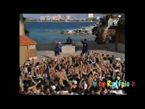 Busta Rhymes  live on the beach with Eminem (1999 Spring Break  Performance)