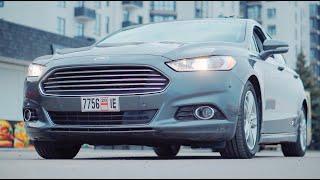 Обзор Ford Fusion Titanium Hybrid из США. Надежное авто с расходом 5 литров. Что еще нужно?