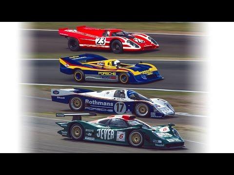 Porsche 917, 962c, 917-30 and 996 GT1 (Zandvoort demo laps)