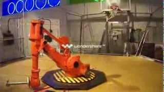 Basketball Robot Shooting Free Throws